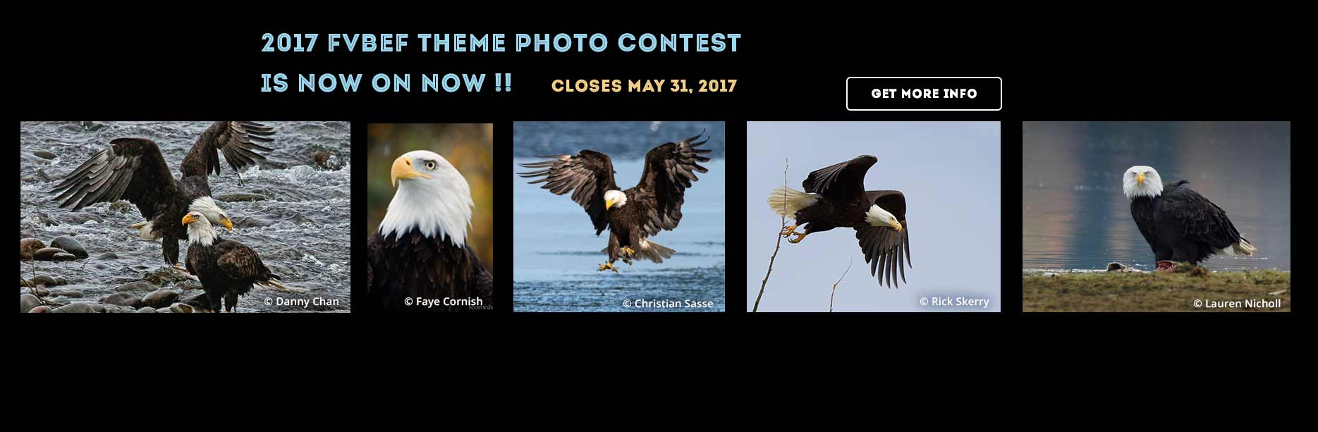 2017 FVBEF Theme Photo Contest is now On Now !!